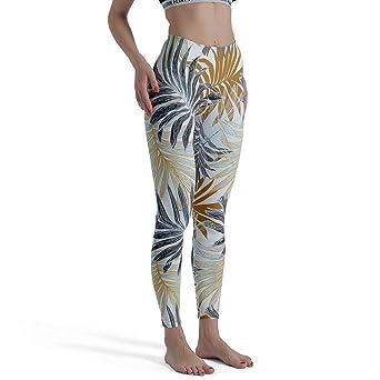 Charzee - Pantalones de Yoga para Mujer con impresión de ...
