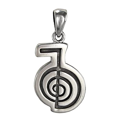 Amazon Sterling Silver Cho Ka Rei Reiki Pendant Symbol Of
