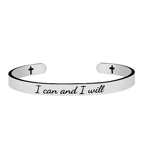 Amazon Joycuff Bracelets Jewelry For Christians Silver Cuff