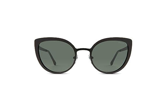 Komono Damen Brillengestelle Logan, Schwarz (Black Matte), 52