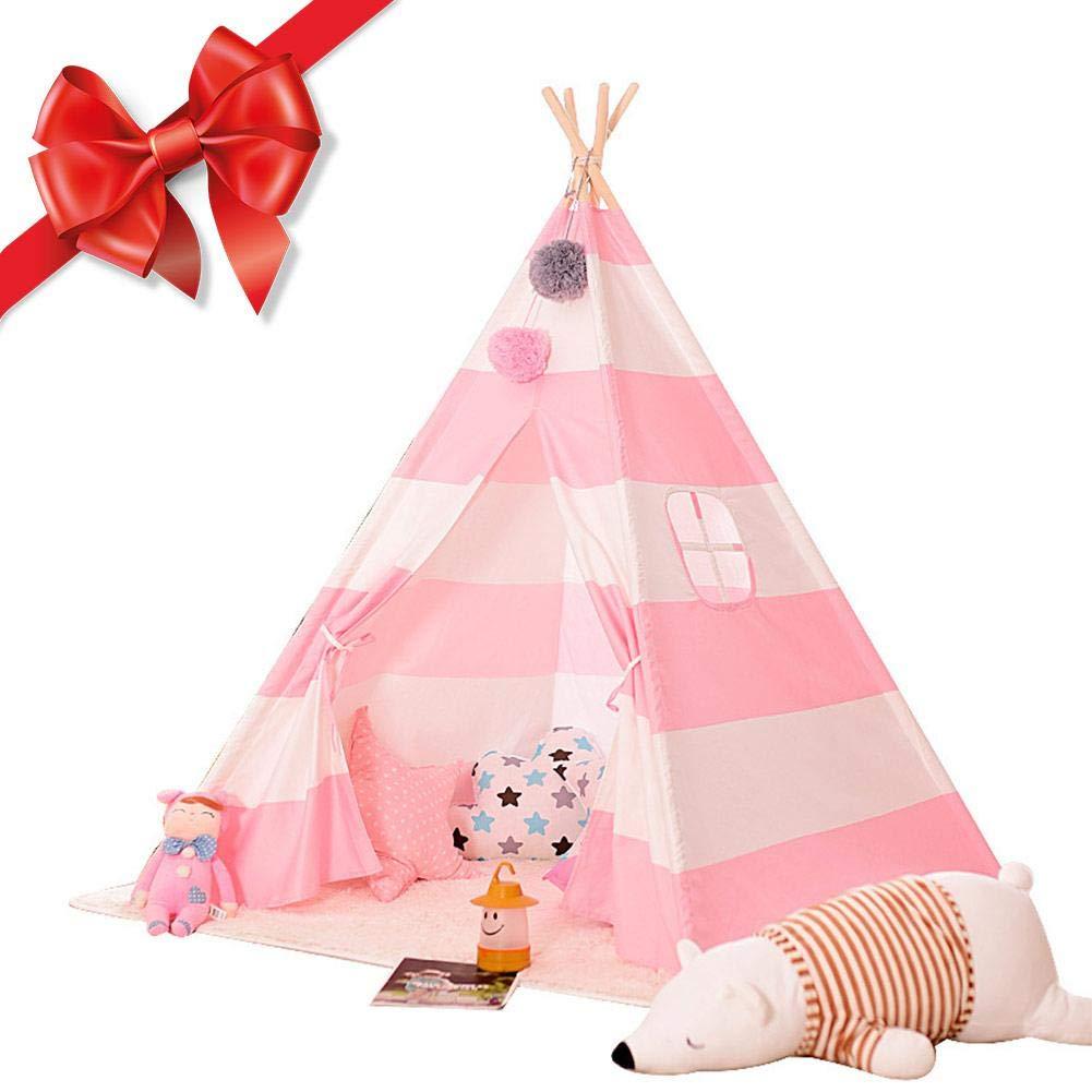 Depruies Indoor Kinderzelt Spielhaus Packen Baby Kletterzelt Indoor Spielzimmer Kids Tipi Kinder Spielzelt, N, L