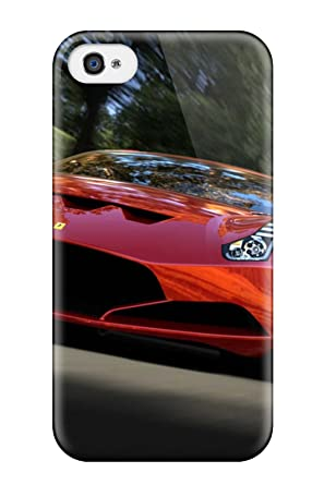 Amazoncom Hot Snap On Red Ferrari Wallpaper Hard Cover