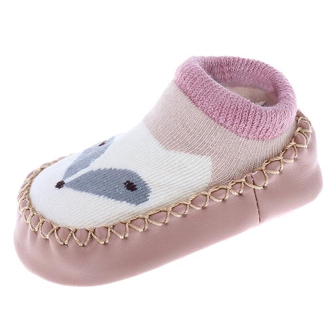 Dovewill Calcetines de Antideslizantes Unisexo para Bebés Estilo ...