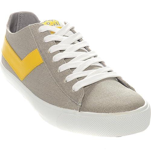 Pony - Zapatillas para hombre gris gris: Amazon.es: Zapatos y complementos