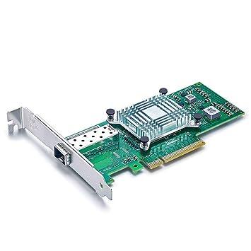 10Gtek® 10GbE PCIE Tarjeta de Red para Intel X520-DA1-82599ES Chip, Single SFP+ Puerto, 10Gbit PCI Express x8 LAN Adapter, 10Gb Nic para Windows ...