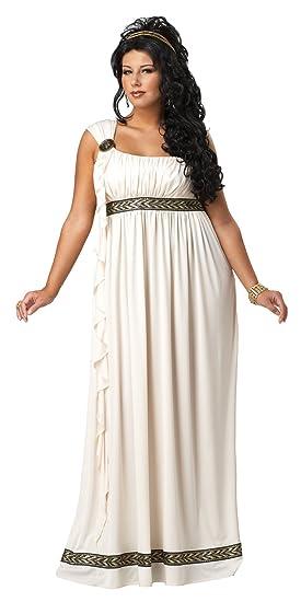 Plus Size Womens Olympic Goddess Costume