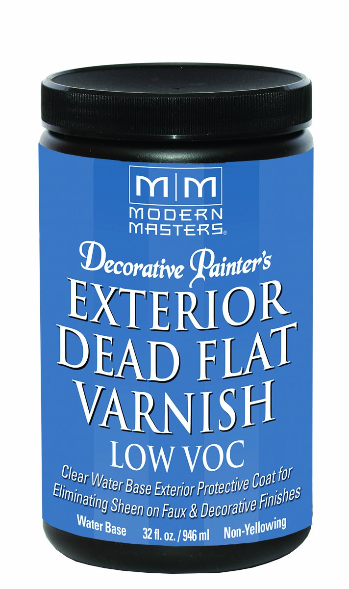 Modern Masters DP401 Exterior Dead Flat Varnish Low VOC Quart
