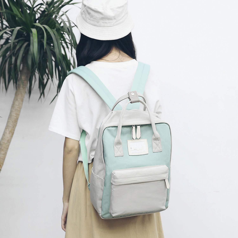 Fashion Women Backpack Waterproof Canvas Travel Teenagers Girls Shoulder Bag