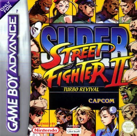 Gameboy Advance - Super Street Fighter II Turbo Revival: Amazon.es ...