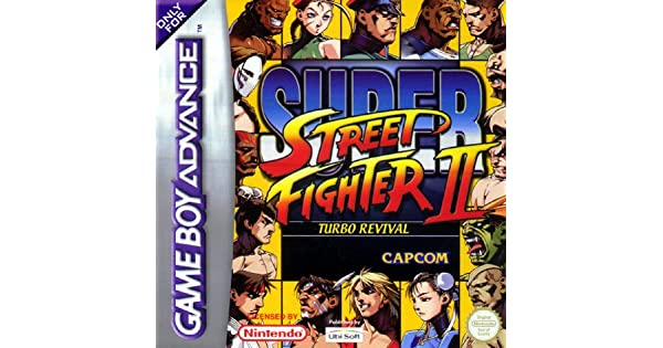 Gameboy Advance - Super Street Fighter II Turbo Revival: Amazon.es: Videojuegos