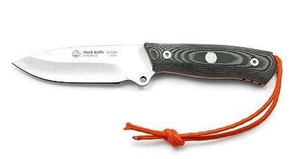Amazon.com: Puma IP cuchillo de cuello Micarta con funda de ...