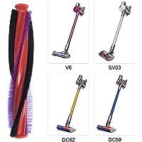 Inlefen Vacuum Cleaner Accessories Brushroll Brush Bar Roller for Dyson V6 DC59 DC62 SV03 Motorhead Rotating Cylinde