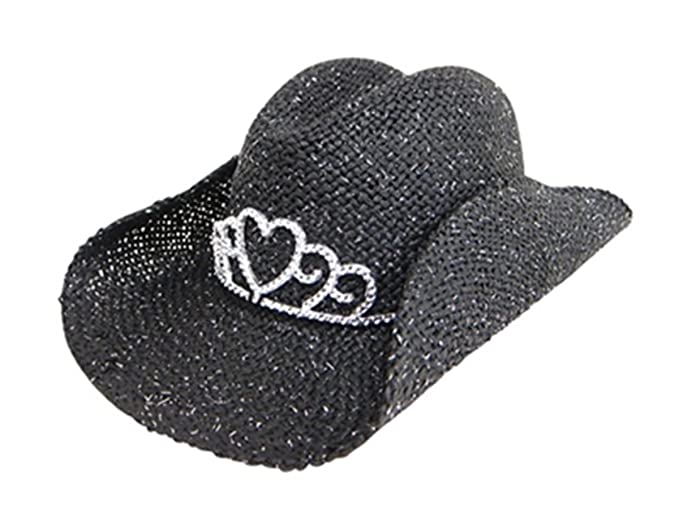 Amazon.com  Handwoven Kids Straw Sparkly Cowboy Hat 72a437b28add