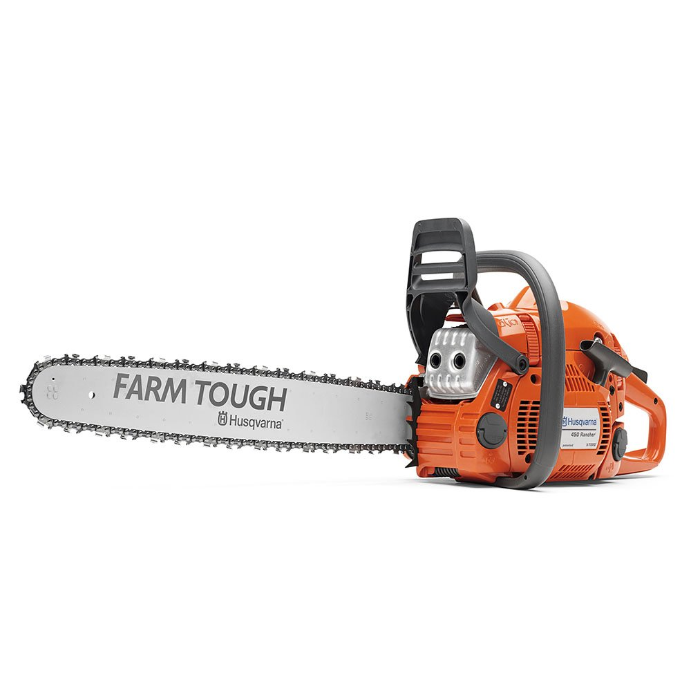 Husqvarna 450 Rancher 20'' Farm Tough Bar 967651201 Gas-Powered Chain Saw