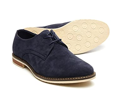 ac8dab3d82 Mens Classy Formal Italian Suede Blue Suede Brogues Size 10 UK Lace-Up shoes  - William: Amazon.co.uk: Shoes & Bags