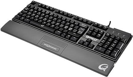 Qpad Mk 50 Gaming Tastatur Schwarz Computer Zubehör
