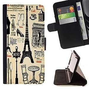 Jordan Colourful Shop - FOR LG G3 - Time walking slowly - Leather Case Absorci¨®n cubierta de la caja de alto impacto