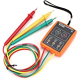 SM852B Probador de rotación de 3 fases Indicador de fase digital Detector LED zumbador…