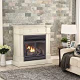 Duluth Forge Dual Fuel Ventless Fireplace 32,000