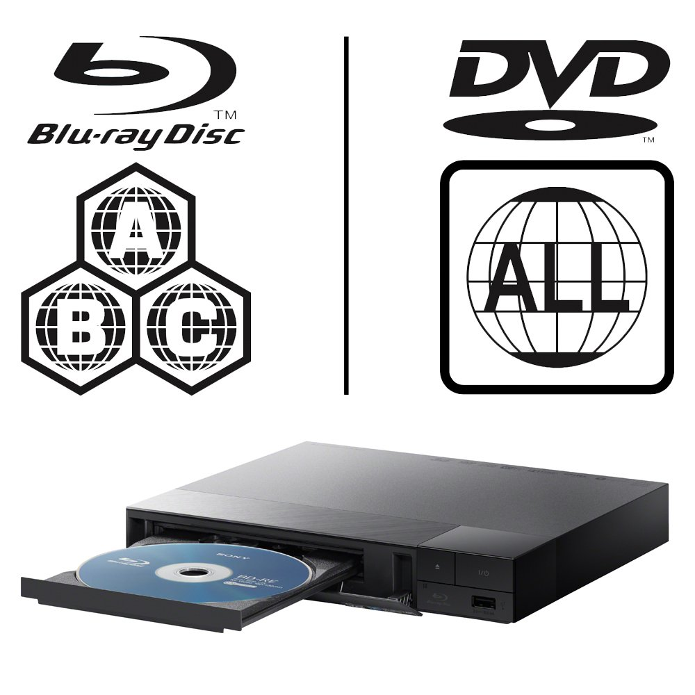 SONY BDP-S1700 Lecteur Multi Zone Region Code Free BLU Ray