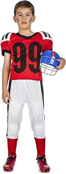 Disfraz Fútbol Americano 3-4: Amazon.es: Juguetes y juegos