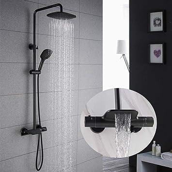 Grifos ducha con columna
