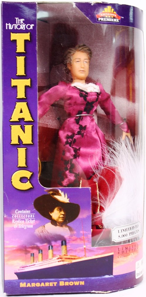 The History of the Titanic MARGARET BROWN Limited Edition//Collectors Series Exclusive Toy Products Inc.