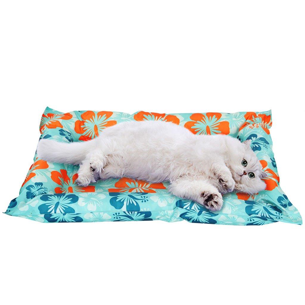 Nido di ghiaccio per animali, Gabbia per gatti gatti gatti estivi, Materassino per dormire, Raffreddonnato estivo, Cool, Clawproof, Stuoia per cani, Stuoia impermeabile, Ghiaccio per gatti, Materiale per animali 0e0401