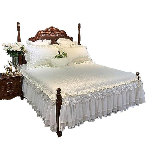 Falda de la cama, Funda de Cama, Cubierta de Polvo, Funda de Cama ...