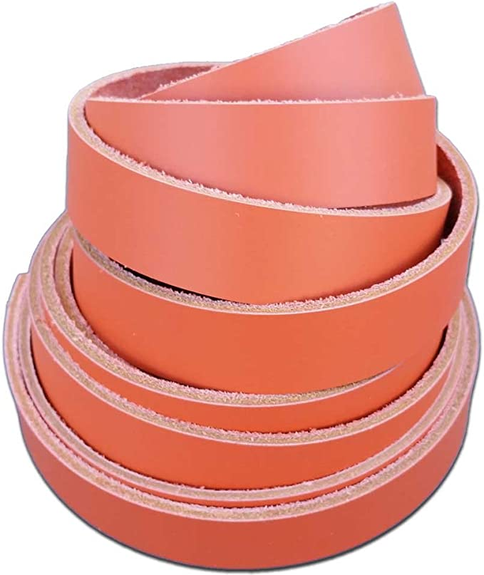 2.4 /– 2.8mm 2 x 12 6-7 oz. Latigo Leather Strips by Pitka Leather Black Leather Strips 2 Inch Wide up to 96 Inch Long