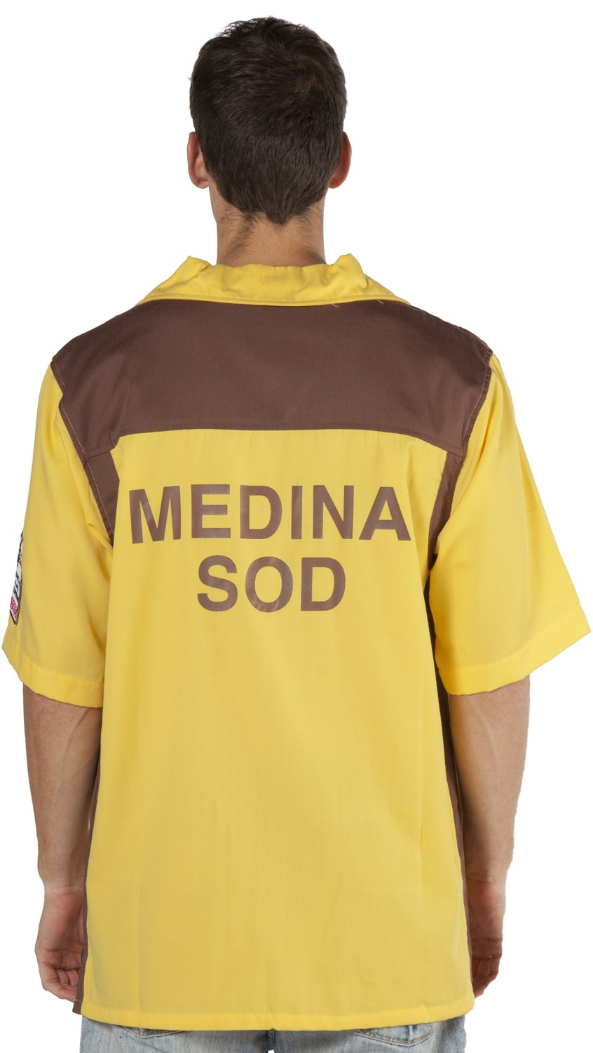 The Big Lebowski - Medina Sod Bowling Jersey - Medium by Ripple Junction (Image #1)