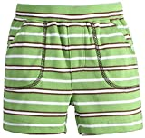 MOM & BAB 4T Cute Organic CottonBoys Shorts- 100% Soft Cotton| Limited Edition! | Cute & Comfortable(Green/Brown/White)