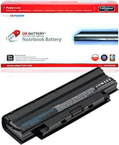 DR. BATTERY J1KND Battery Compatible with Dell Inspiron N5050 15R N5010 14R N4010 N5110 N5030 M5030 N4110 N7110 N4050 Vostro 1540 3750 3550 08NH55 04YRJH 9T48V[48Wh/4400mAh/10.8V]