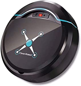 YLOVOW Robotic Vacuums Cleaner, Tangle-Free Suction for Pet Hair, Hard Floor, Thin Carpet - Intelligent Robot Vacuum Cleaner Self-Charge Wet and Dry Mopping for Wood Floor