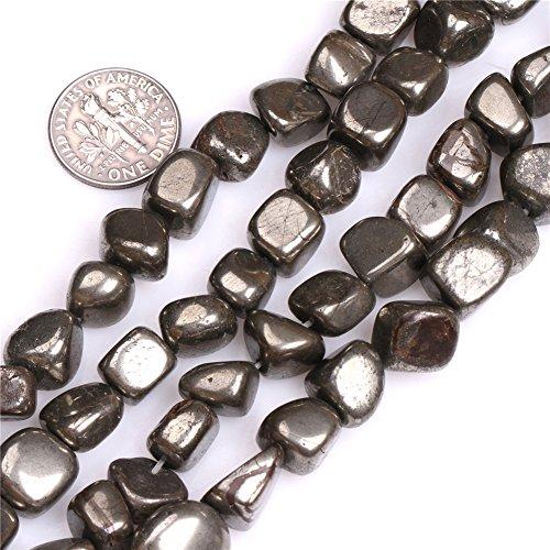Pyrite Beads for Jewelry Making Natural Gemstone Semi