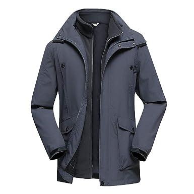 KT&Jacket Estilo Vestido de Invierno Hombres Chaqueta ...