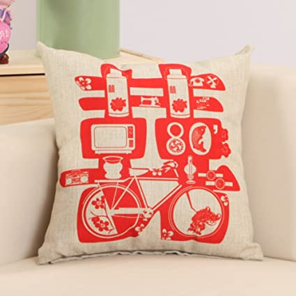 7aeffa841 Image Unavailable. Image not available for. Color: Chinese wedding pillow/Blends  red ...