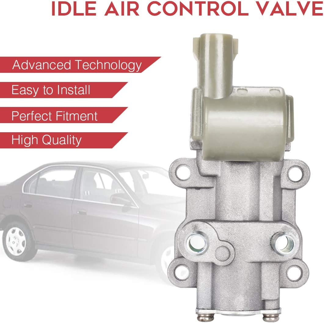 CX DX and LX only 16022-P2A-J01 IAC186 Idle Air Control Valve IACV ...
