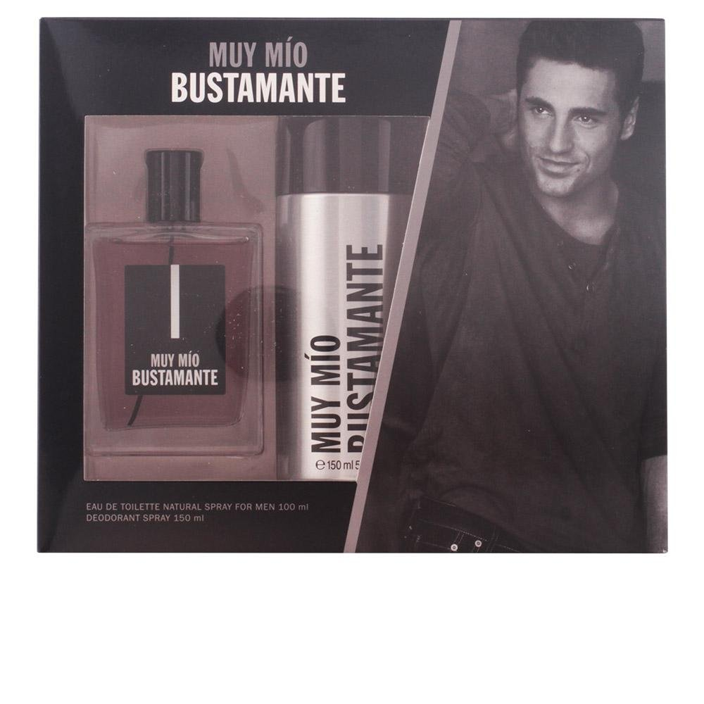 David Bustamante - David Bustamante Muy Mio Eau De Toilette Spray 100ml Set 2 Piezas 2017: Amazon.es: Belleza