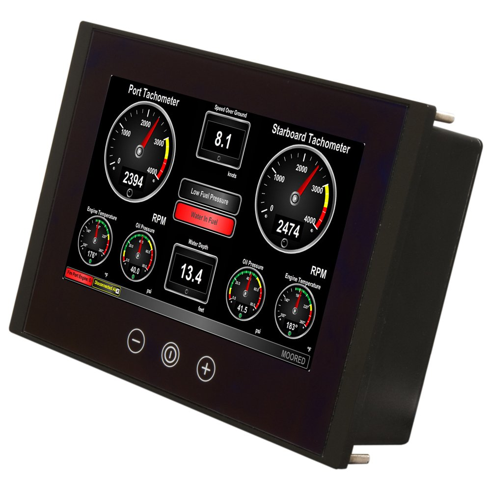 CDM product Maretron TSM800C-01 8-Inch Vessel Monitoring/Control - Touchscreen big image