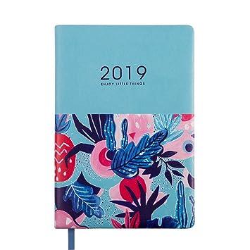 YWHY Cuaderno Agenda 2019 Agenda De Agenda Cuaderno A5 ...