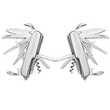 Amazon.com: RockBirds, navaja multiuso, de bolsillo, 11 ...