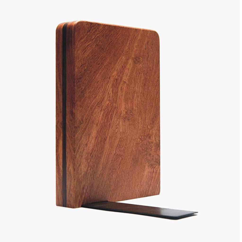 QIYINGYING Buch Rack Mahagoni-Buchdatei Speicher kreativ (Furnier)