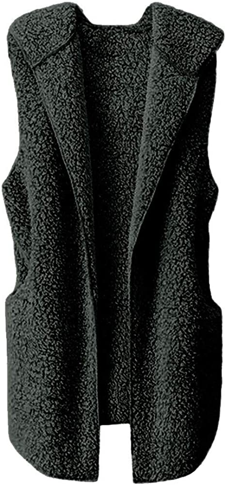 Amazon.com: HYIRI chaleco de invierno cálido con capucha ...