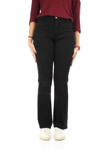 Wrangler W233GQ111 Pantalones Vaqueros Mujer Retro Black 28 ...