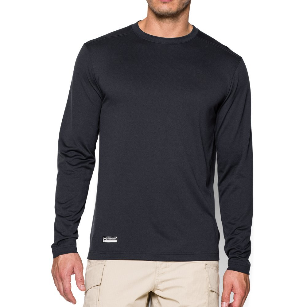 1b6ea960 Under Armour Men's Tactical Tech Long Sleeve T-Shirt, Dark Navy Blue /None,  Large