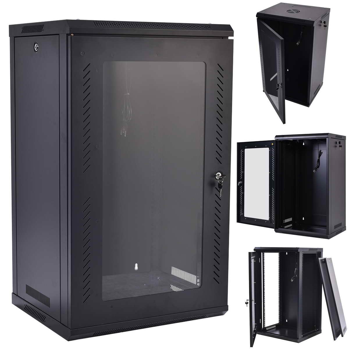 Safstar Cabinet Enclosure Data Tempered Image 3