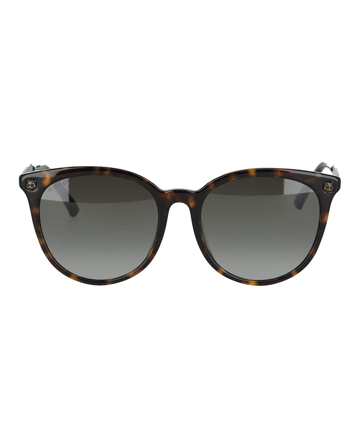 4a3d361be21 Amazon.com  Gucci Womens Round Oval Sunglasses GG0224SK-30001800-002   Clothing