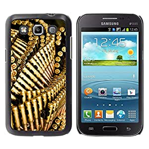 Impact Case Cover with Art Pattern Designs FOR Samsung Galaxy Win I8550 Bullets Gun Golden Bling Wallpaper Betty shop