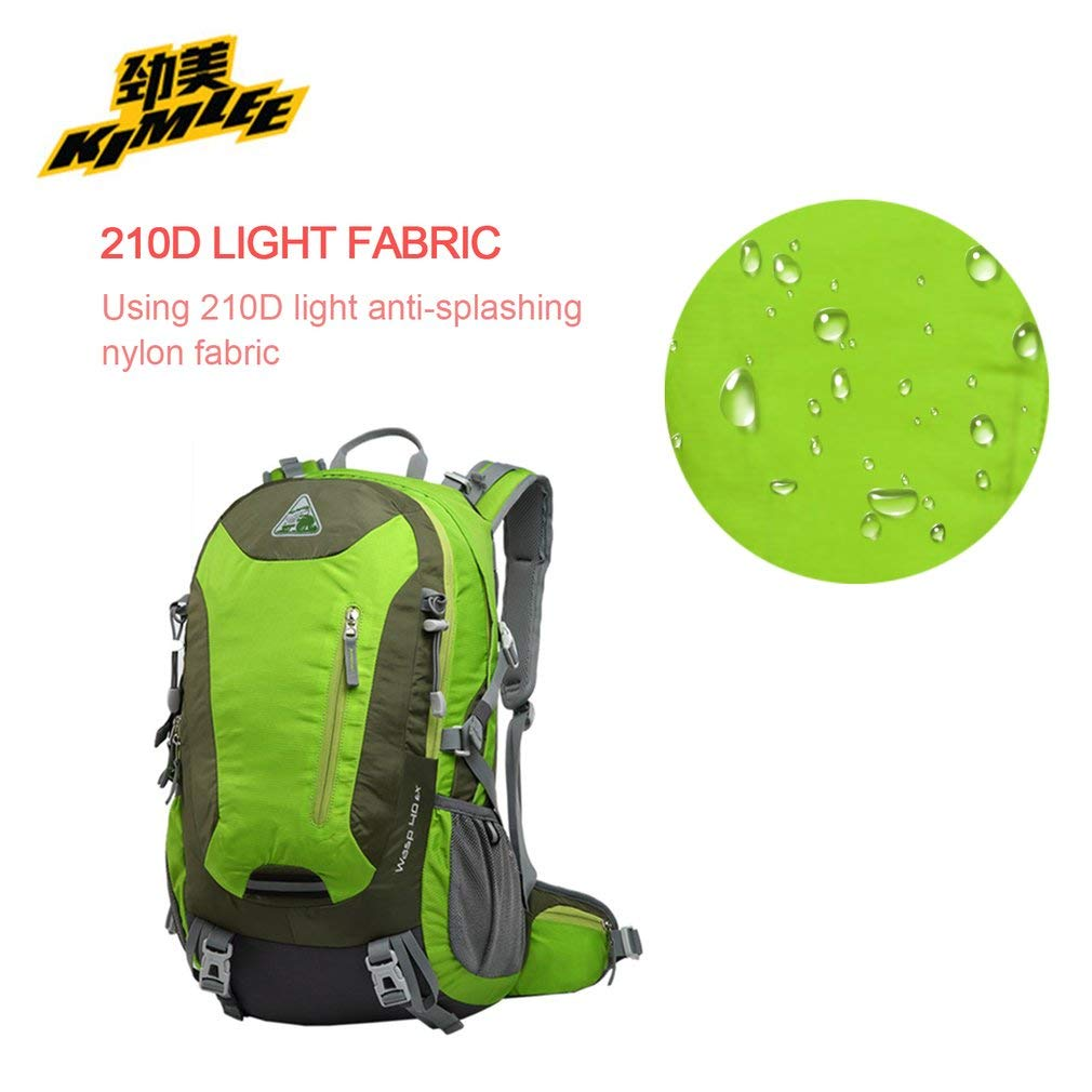 YTYC Waterproof Mountaineering Backpack Breathable Back Support Large Capacity Bag